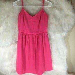 J. Crew Fluorescent Neon Pink Size 4 Shift Dress S